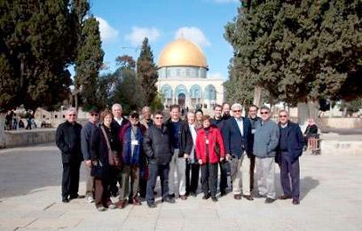 מה רואים מהר הבית. המשלחת הרב דתית בירושלים ()