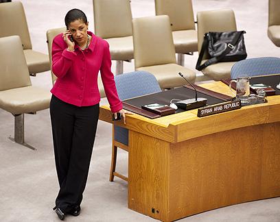 מאמציה עלו בתוהו. השגרירה סוזן רייס  (צילום: AFP) (צילום: AFP)
