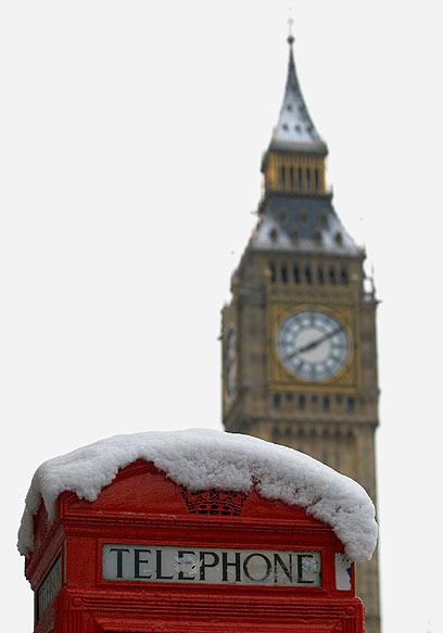 לונדון חורפית מתמיד (צילום: AP) (צילום: AP)