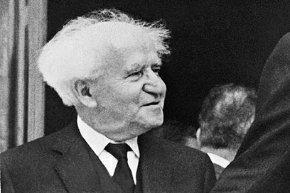 David Ben-Gurion. 'The best statesman Israel ever had' (Photo: AFP) (Photo: AFP)