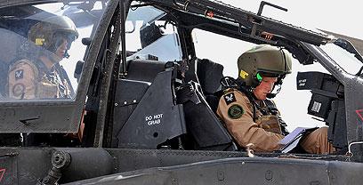 המצטיין בקורס. הנסיך הארי (צילום: AFP/SGT RUSS NOLAN/BRITISH MOD/HO) (צילום: AFP/SGT RUSS NOLAN/BRITISH MOD/HO)