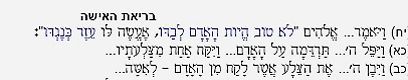 """כך נראה סיפור בריאת האישה בתנ""""ך המקוצר (פרק ב', פסוקים י""""ח-כ""""ב)"""
