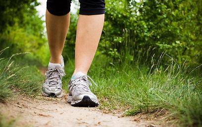 המשוואה להצלחה: אוכל בריא ולא משמין + פעילות גופנית (צילום: shutterstock ) (צילום: shutterstock )