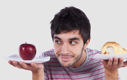הדיאטה משקפת את האופן שבו מתוכנן גופנו לאכול (צילום: shutterstock ) (צילום: shutterstock )