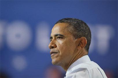 """אובמה: """"כשאני חושב על הילד הזה, אני חושב על הילדים שלי"""" (צילום: AFP) (צילום: AFP)"""