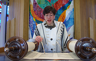 Rabbi Julie Schonfeld (Photo: Ashira Konigsburg)