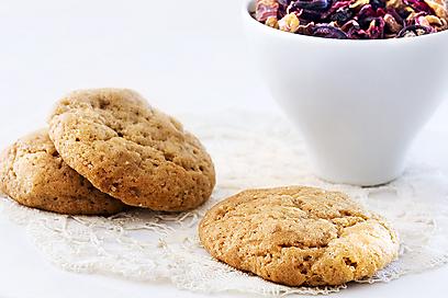 עוגיות ג'ינג'ר-שוקולד (צילום: גיא בלומנשטיין) (צילום: גיא בלומנשטיין)