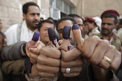 First democratic election in Yemen (Photo: AP) (Photo: AP)