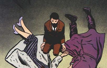באטמן מתייתם - והופך לגיבור  (עטיפת הקומיקס) (עטיפת הקומיקס)