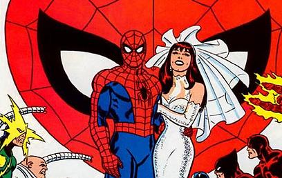 בחזרה לעתיד של ספיידרמן. הייתה חתונה, או שלא?  (עטיפת הקומיקס) (עטיפת הקומיקס)