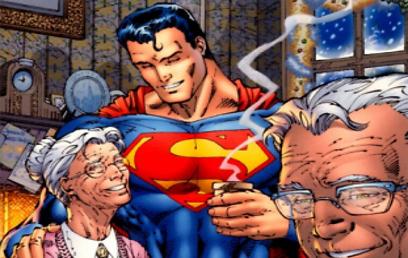 הדודים שגידלו את סופרמן. ככה דמיינתם אותם?  (עטיפת הקומיקס) (עטיפת הקומיקס)