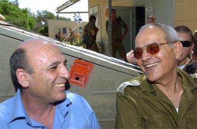 חלוץ ומופז ב-2005 (צילום: חיים הורנשטיין) (צילום: חיים הורנשטיין)