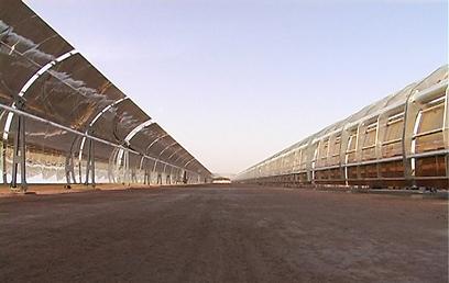 פיילוט לייצור אנרגיה סולארית בדרום (צילום: חגי דקל) (צילום: חגי דקל)