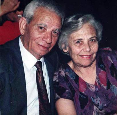 """הכירו בסלוניקי - נקברו בחולון. שרה ואלברט יחיאל ז""""ל (צילום רפרודוקציה: אבי מועלם) (צילום רפרודוקציה: אבי מועלם)"""