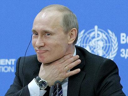 12 שנים נוספות בשלטון? פוטין (צילום: AFP) (צילום: AFP)