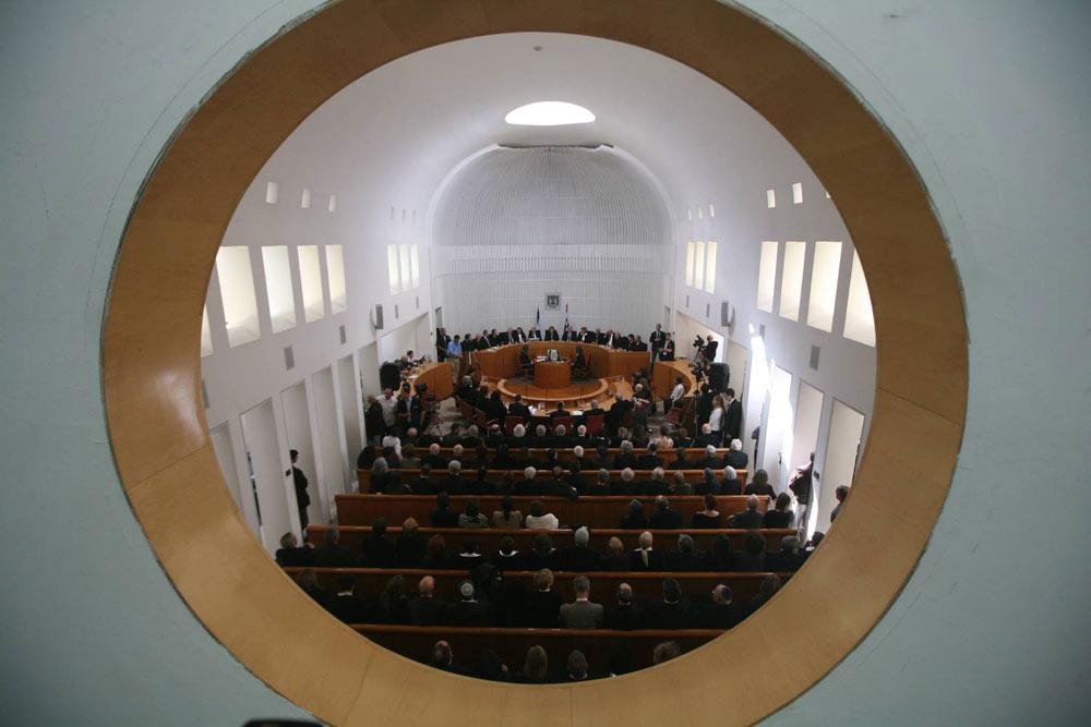 בית המשפט העליון. בקרוב על המסך בבתיכם  (צילום: גיל יוחנן) (צילום: גיל יוחנן)