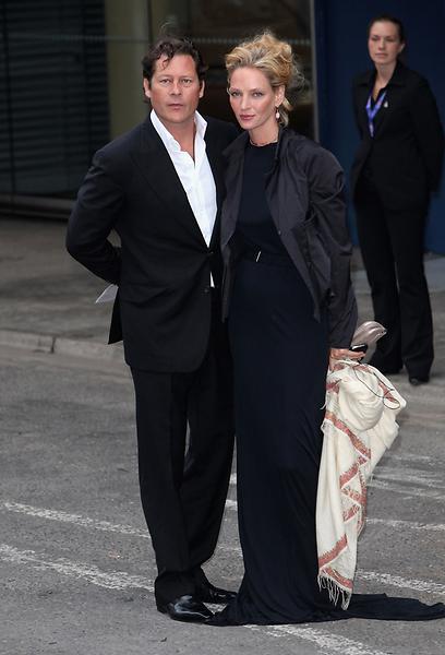 אין לכם עוד שם במקרה? אומה תורמן והבנזוג ארפד בוסון (צילום: Gettyimages) (צילום: Gettyimages)