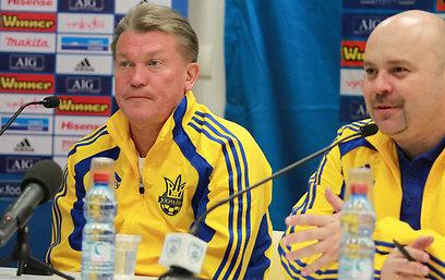 אולג בלוחין, מאמן אוקראינה. בסוף הוא ונבחרתו יסבלו יותר מכל (צילום: ראובן שוורץ) (צילום: ראובן שוורץ)