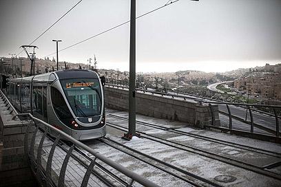 זכיינית הרכבת הקלה נקנסה ב-1.3 מיליון שקל (צילום: נועם מושקוביץ) (צילום: נועם מושקוביץ)