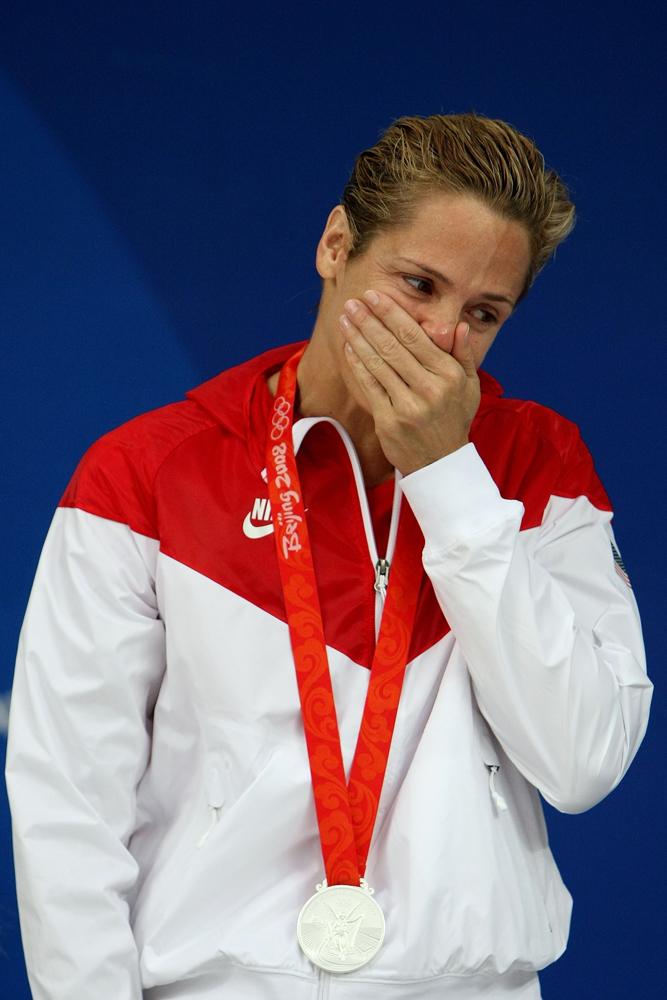 דארה טורס. עמדה על הפודיום האולימפי בגיל 41 (צילום: Gettyimages)