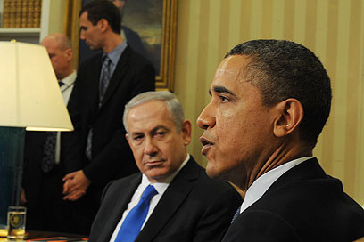 Obama and Netanyahu. 'The US president has no reason to give in to what appears to be a Republican dictation and a speech which will criticize his policy on Iran and could help the Israeli leader win the elections' (Photo: Amos Ben Gershom, GPO)