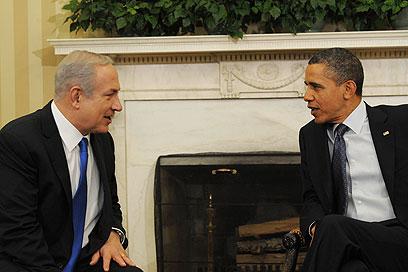 """אובמה ונתניהו בבית הלבן, ארכיון (צילום: עמוס בן גרשום, לע""""מ) (צילום: עמוס בן גרשום, לע"""