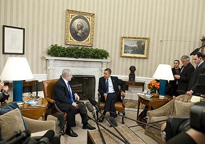 אובמה ונתניהו. מי חשב על זה קודם? (צילום: AFP) (צילום: AFP)