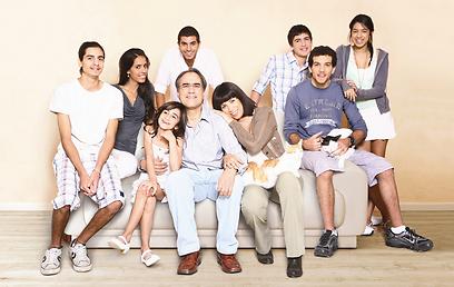 שינוי מהותי. משפחת סער (צילום: ינאי יחיאל) (צילום: ינאי יחיאל)