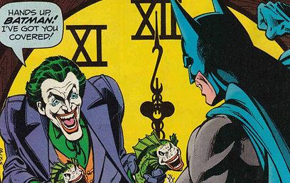 חוזר לשורשים הרצחניים של דמותו  (עטיפת הקומיקס) (עטיפת הקומיקס)