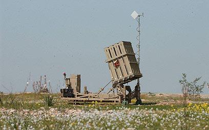 כיפת ברזל בבאר שבע (צילום: הרצל יוסף) (צילום: הרצל יוסף)