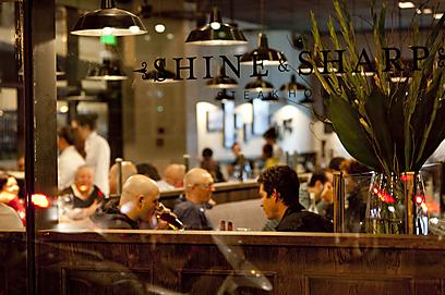 המעוצבת שבמסעדות המצעד. שיין & שארפ (צילום: תום להט) (צילום: תום להט)