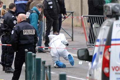Scene of shooting outside Toulouse school (Archive photo: AFP)