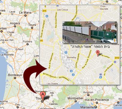 מפת האזור (צילום: google maps) (צילום: google maps)