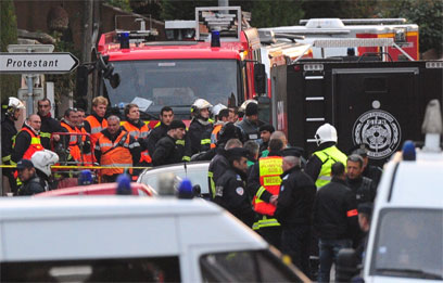 Police forces in Toulouse (Photo: MCT)