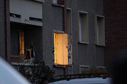 Window of Merah's apartment (Photo: MCT)