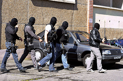 New threat - French police near Merah's home (Photo; AFP)