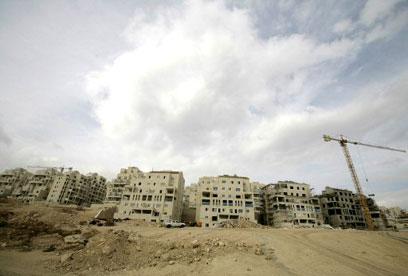 500 יחידות נוספות בהר חומה בירושלים (צילום: רויטרס) (צילום: רויטרס)