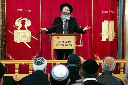 לתמוך במי שתומכים בשיבת ישראל לארצו. הרב מלמד (צילום: מתי אלמליח) (צילום: מתי אלמליח)