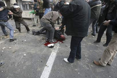 Riots in Iran in 2009 (Photo: AP)