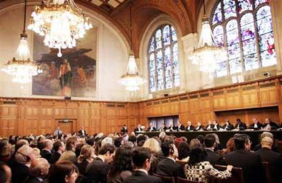 """בית המשפט הפלילי הבינ""""ל ליוגוסלביה, האג (צילום: איי פי) (צילום: איי פי)"""