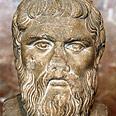 פסל בדמותו של אפלטון