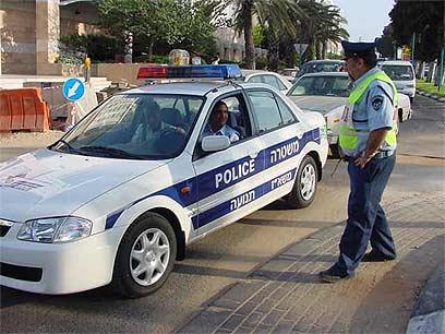 החיפוש לא חוקי, נאשם בנהיגה תחת השפעת סמים זוכה (אילוסטרציה, לשוטרים המצולמים אין קשר לכתבה) (צילום: ישראל סמיונסקי) (צילום: ישראל סמיונסקי)