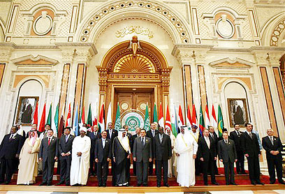 Arab leaders in Riyadh. The relevant parties will sit around the table until they reach an acceptable formula (Archive photo: AP)