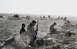 """מלחמת סיני. צילום: אברהם ורד, לע""""מ"""