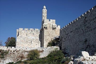 מוזיאון מגדל דוד (צילום: רון פלד) (צילום: רון פלד)