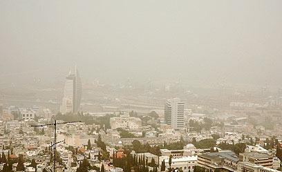 מפרץ חיפה: העובדים חוזרים, האמוניה נשארת (צילום: מונט גלפז) (צילום: מונט גלפז)