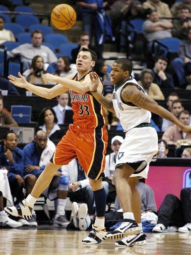 שיחק בשתי קבוצות ב-NBA. שאראס בגולדן-סטייט (צילום: איי פי) (צילום: איי פי)