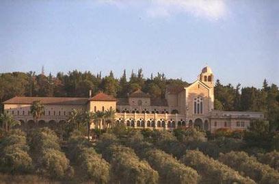 """""""מנזר השתקנים"""" בלטרון (צילום: יעקב סער, לע""""מ) (צילום: יעקב סער, לע"""