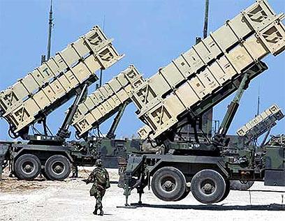 סוללות טילי פטריוט במלחמת המפרץ הראשונה (צילום: צביקה טישלר) (צילום: צביקה טישלר)