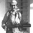 """ברק כחייל צה""""ל בתלבושת קרבית, 1967"""